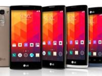 LG bringt vier neue Smartphones zum MWC 2015
