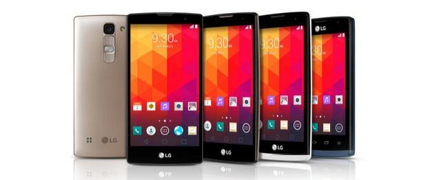 LG MWC 2015 Lineup