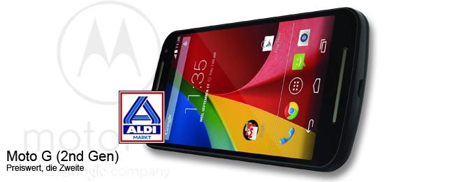 Motorola Moto G (2nd gen.) bei Aldi Nord