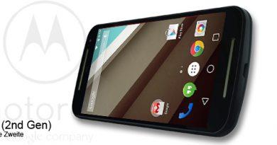 Motorola Moto G (2nd Gen.) mit Android 5 Lollipop