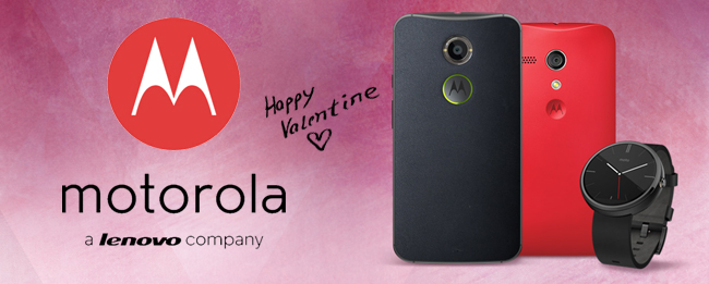 Motorola Valentinstag 2015