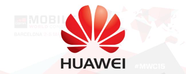 MWC 2015 HUAWEI