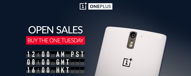 OnePlus One Open Tuesday