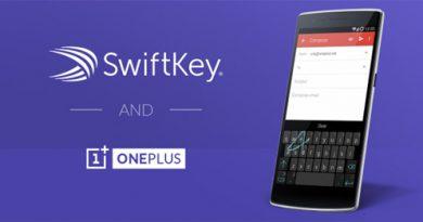 OnePlus One mit SwiftKey