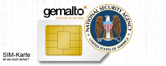 Gemalto-SIM und die NSA