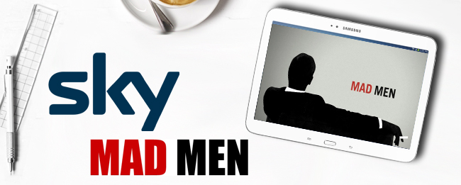 Sky Go Android mit Mad Men Serien-Finale