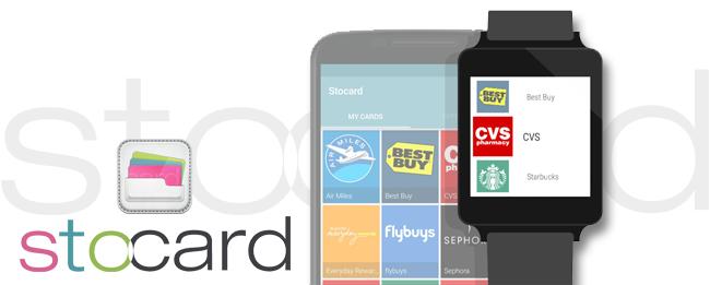 Stocard mit Android Wear Unterstützung