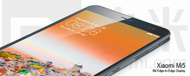 Xiaomi Mi5 Teaser