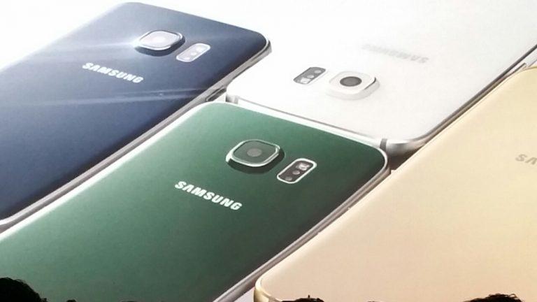 Samsung Galaxy S6 Farben