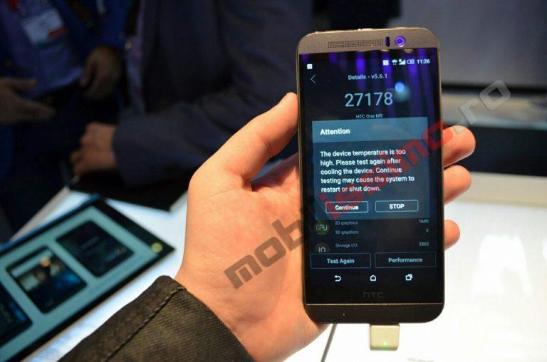 HTC One M9 Überhitzung