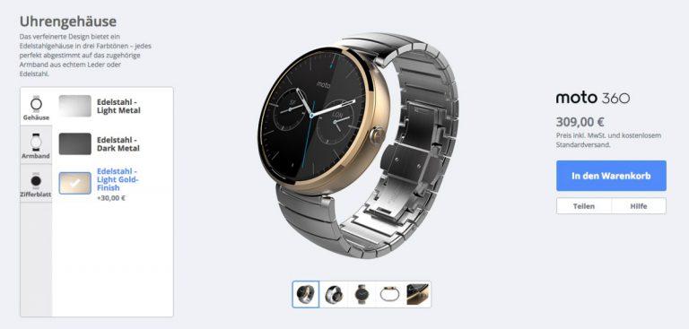 Moto Maker for Motorola Moto 360