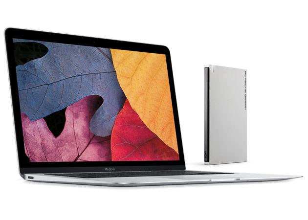 LaCie USB Type-C Festplatte für MacBook