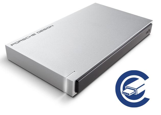 LaCie USB Type-C Festplatte