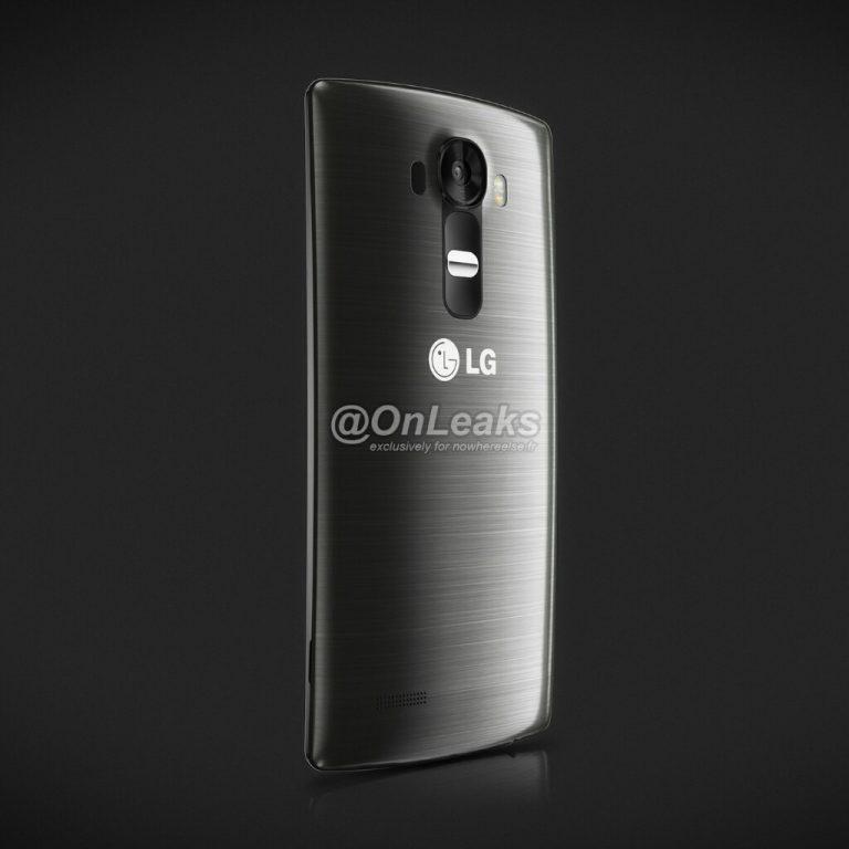 LG G4 Presse-Render