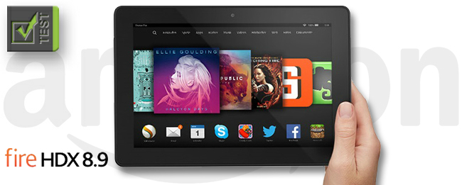 Amazon Fire HDX 8.9 Test