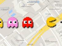 Google Maps Aprilscherz? Pac-Man mit Google zocken