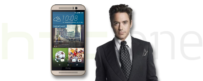 Robert Downey Jr. mit HTC One M9 Werbe-Spots
