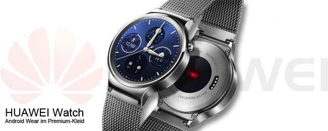 HUAWEI Watch mit Android Wear