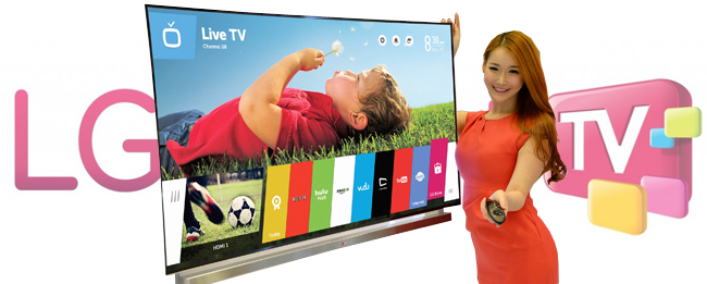 LG Smart TV mit webOS 3