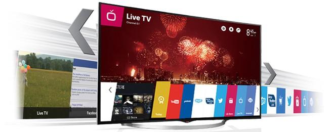 LG Smart TV - multimedialer Mittelpunkt im Haushalt
