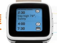 [MWC 2015] Pebble Time Steel: Smartwatch mit 10 Tage Akku-Ausdauer