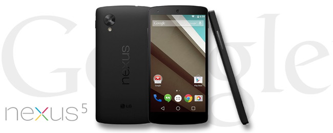 Google Nexus 5 mit Android 5.1 Lollipop