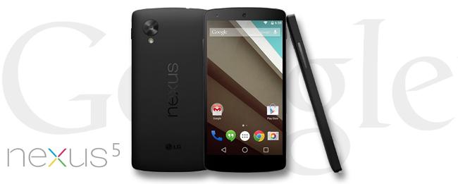 Google Nexus 5 mit Android 5.1 Lollipop