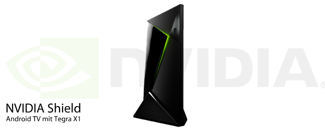NVIDIA Shield Set-Top-Box mit Android TV