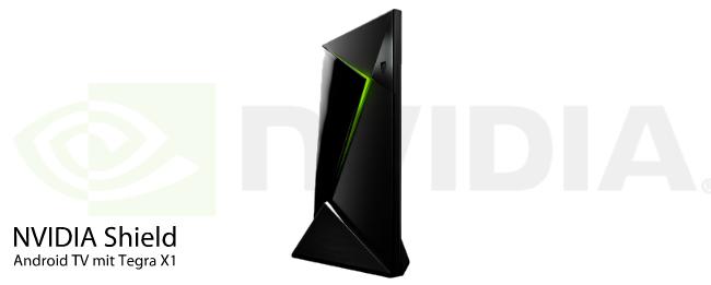 NVIDIA Shield Set-Top-Box mit Android TV