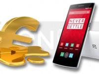 OnePlus One: Euro zwingt zur Preiserhöhung für Europa
