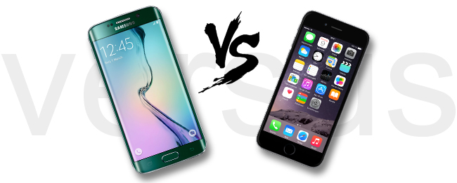 Samsung Galaxy S6 edge vs. Apple iPhone 6
