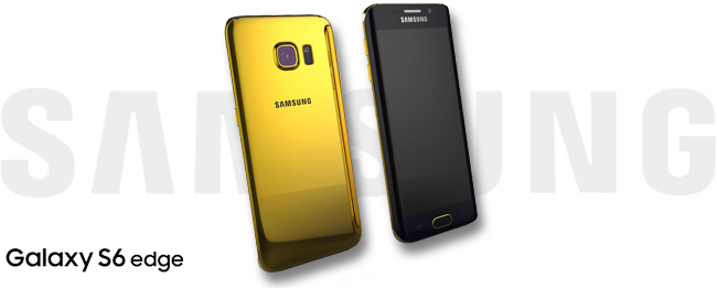 Samsung Galaxy S6 edge in Gold
