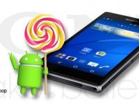 Sony Xperia Z1 Familie bekommt neues Lollipop-Update