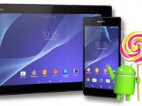 Sony Xperia Z2 Tablet bekommt Android 5.0 Lollipop