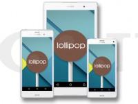 Android 5.1.1 Lollipop für Sony Xperia Z3 und Sony Xperia Z2