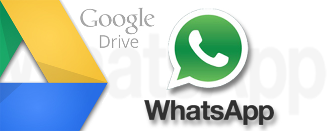 WhatsApp mit Backup zu Google Drive