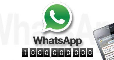 WhatsApp und 1 Milliarde Downloads