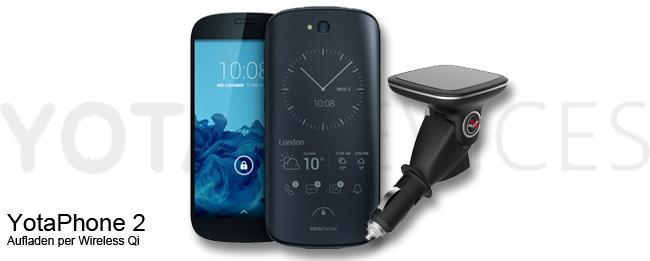 YotaPhone 2 mit FluxPort Car Mount