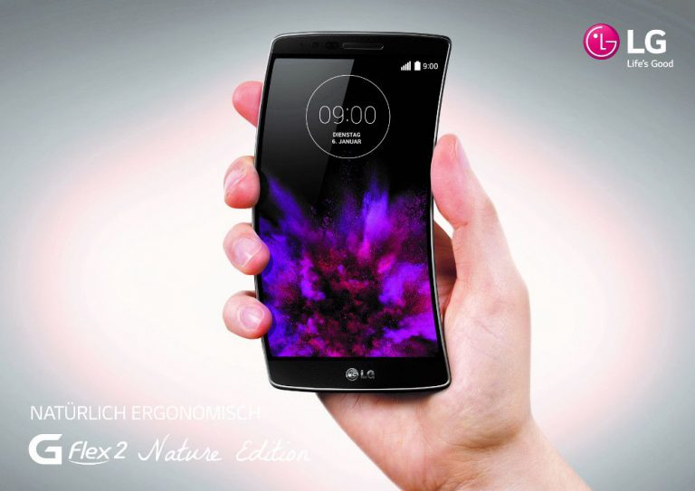 LG G Flex 2 nature Edition