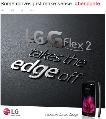 LG G Flex 2 Bendgate