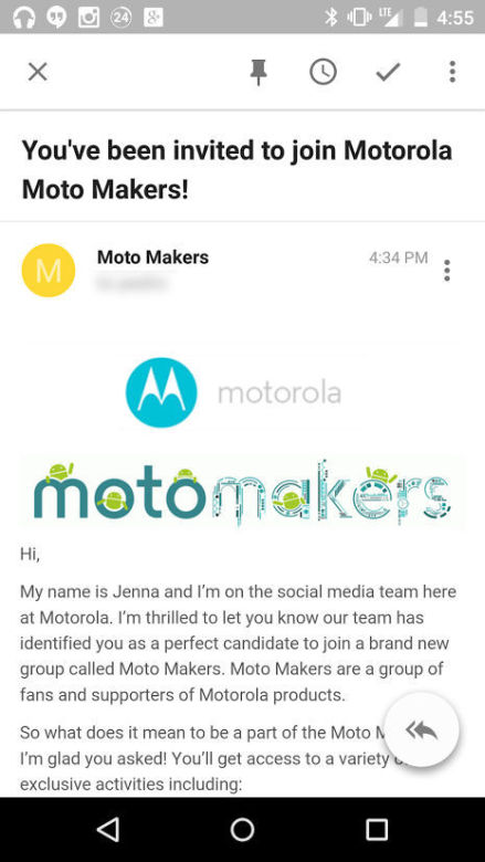 Motorola Moto Makers