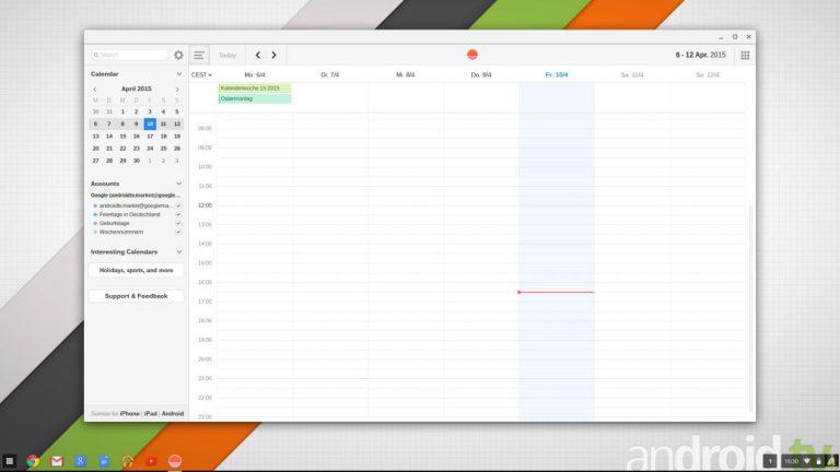 Chrome OS Web Apps