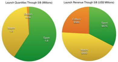 Apple Watch Schätzungen
