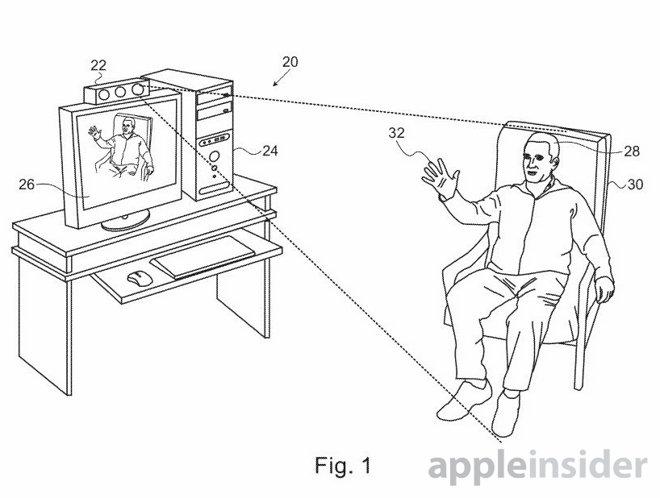 Apple-Patent für 3D-Gestensteuerung