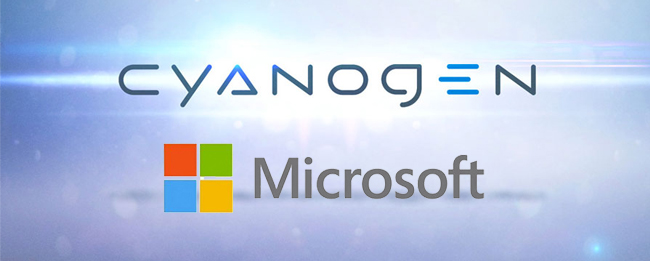 Cyanogen Inc. und Microsoft