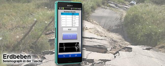 Erdbeben-Frühwarnsystem