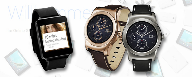 LG Watch Urbane im Google Store