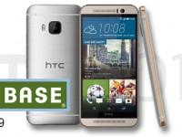 HTC One M9 im BASE-Schnäppchen für 529 Euro