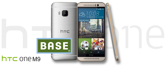 HTC One M9 bei BASE
