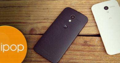 Lollipop-Update für das Motorola Moto X